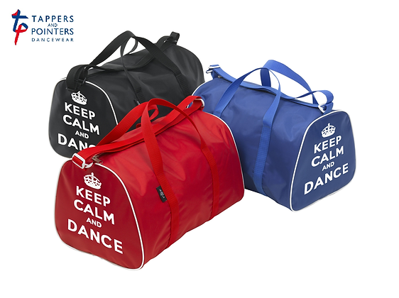 Holdall Bag with Keep Calm Motif