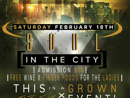 Positive Energy Group Presents Soul In The City