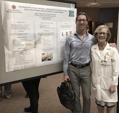 Southern California EBP Symposium with ICU Director Tina Wallum.