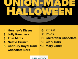 Don't be tricked! Make sure your Halloween treats are made in the USA!
