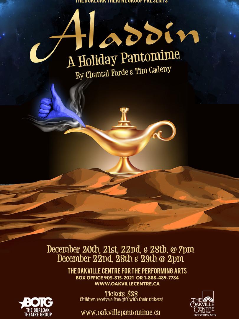 Aladdin Oakville Pantomime