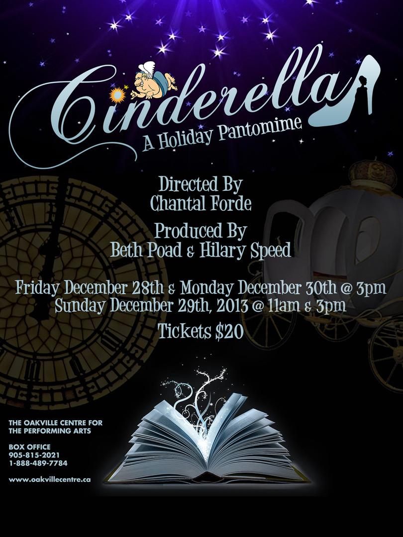 CINDERELLA Oakville Pantomime