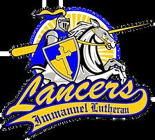 Immanuel Lutheran lancer logo.png