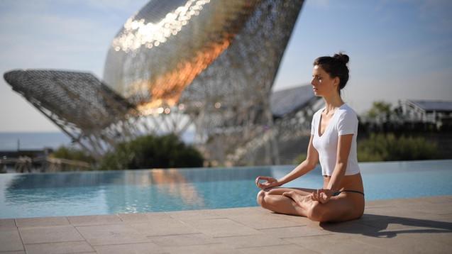 Yoga at the Infinity Pool - Hotel Arts