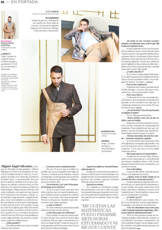 Miguel Ángel Silvestre-Magazine 22.11.2
