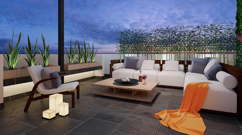 Hermoso Roof Garden
