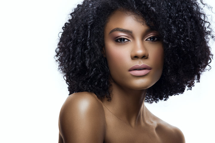 Makeup-Now-USA-African-American-Model-Natural-Hair