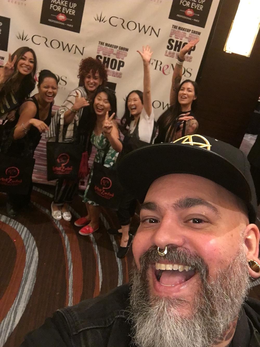 The Makeup Show: James Vincent Selfie