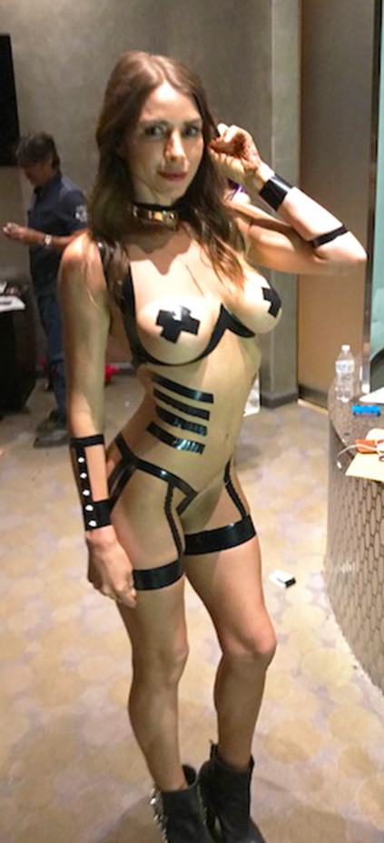Black Tape Art Model