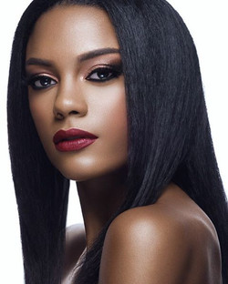 Ad-Campaign-African-American-Model-Straight-Hair