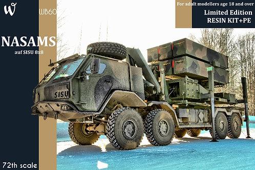 NASAMS auf SISU 8x8