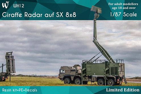 Giraffe Radar auf SX 8x8