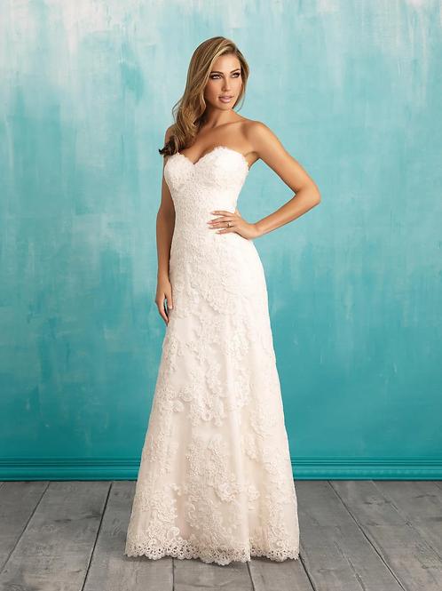 Allure Plus Size '9309' Gown