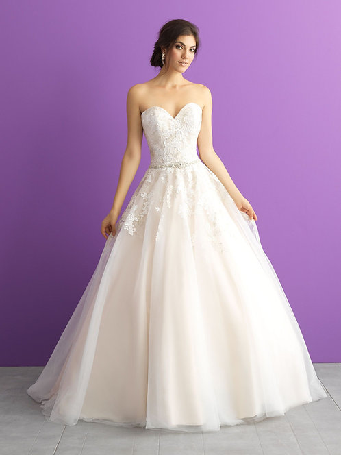 Allure '3001' Plus Size Gown