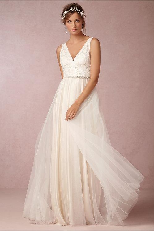 BHLDN Tulle Gown