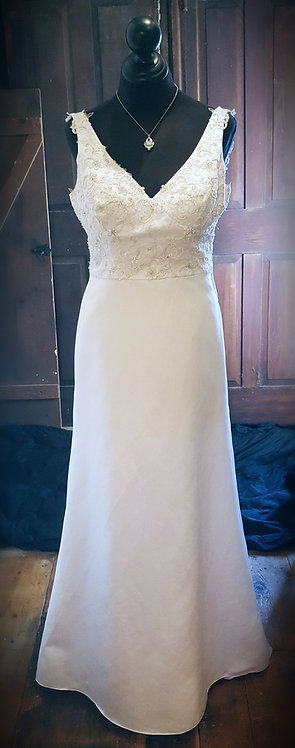 Classic A-Line Gown