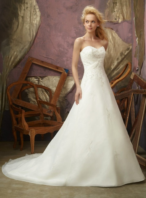 Morilee Slim A-Line Gown