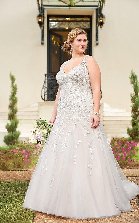 Stella York Plus Size '6401' Gown