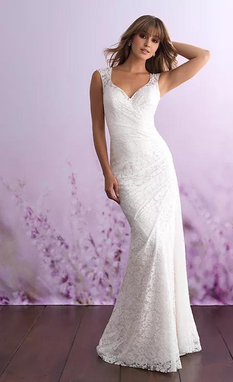 Allure Plus Size '3104' Gown