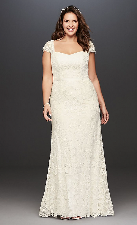 Melissa Sweet Vintage Lace Gown
