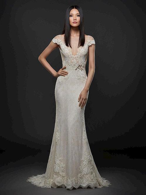 Lazaro '3763' Sheath Gown