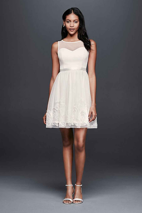 Short Mesh Dress