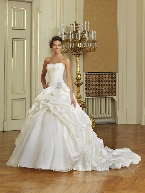 Layered Ball Gown