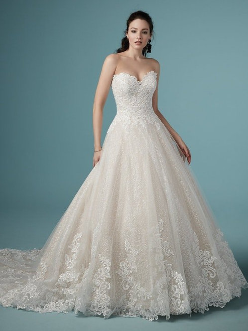 Maggie Sottero Plus Size 'Tristyn' Gown