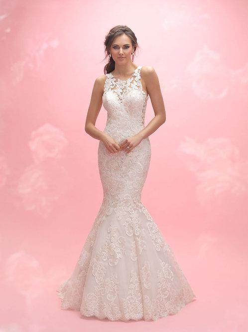 Allure Romance Lace Gown