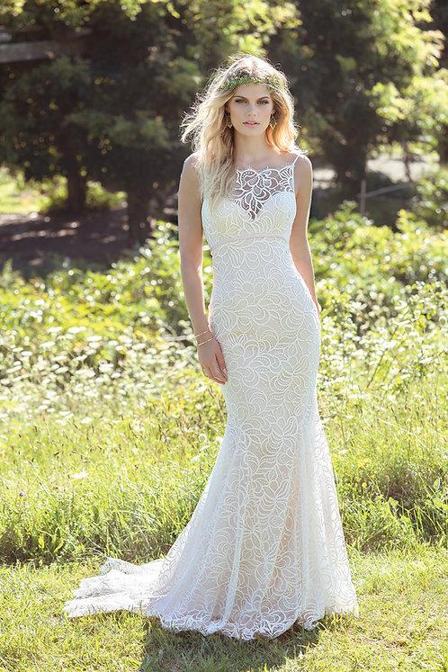 Lillian West Chiffon Gown