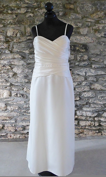 Simple A-Line Gown