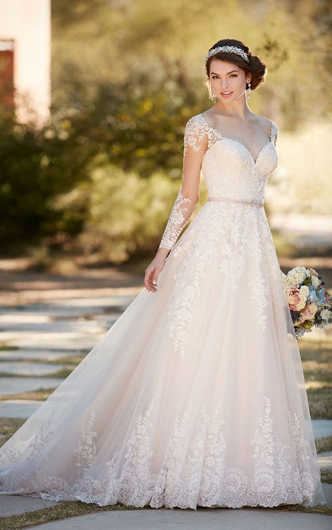 Essence of Australia Lace Gown