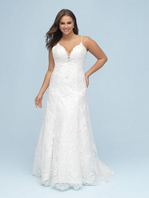 Allure '9605' Plus Size Gown