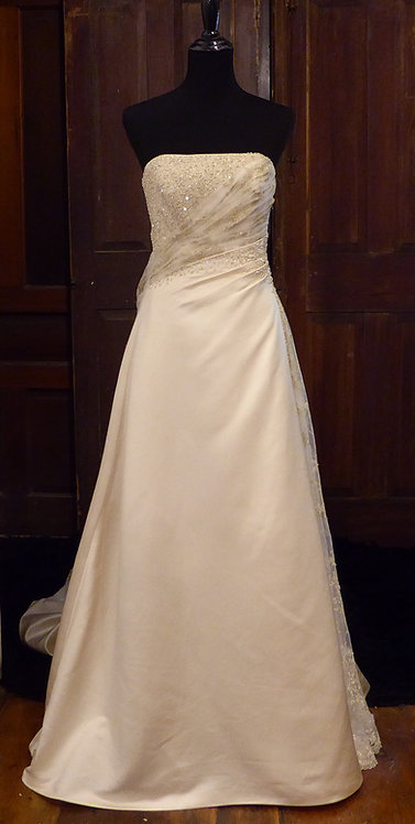 Maggie Sottero Champagne Gown