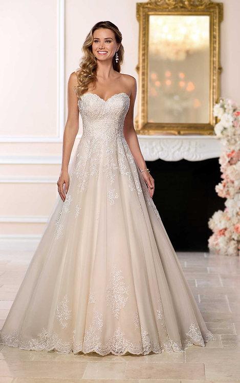 Stella York Plus Size Lace Gown