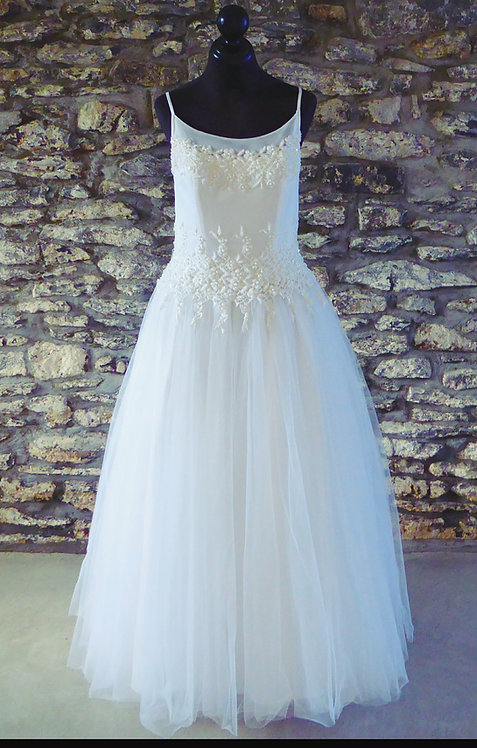 Floral Bodice Ball Gown