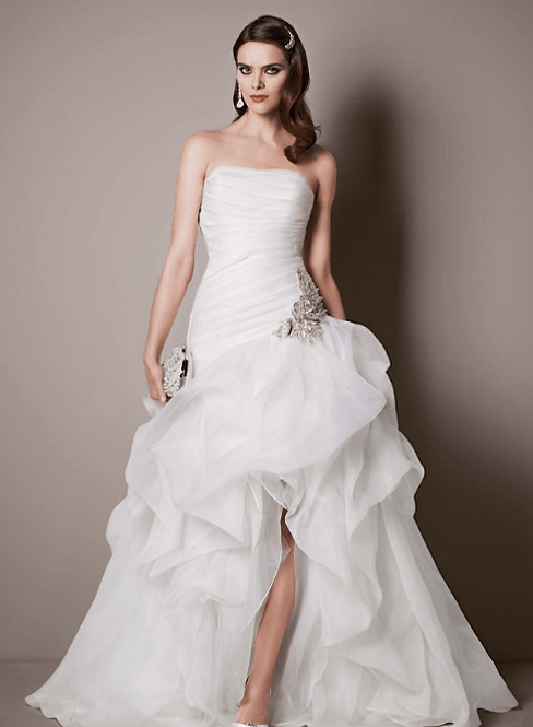 Galina High-Low Gown