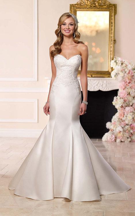 Stella York Strapless Gown