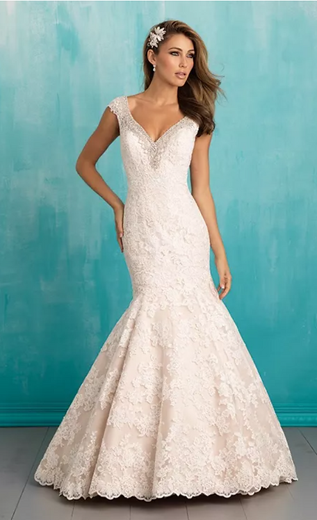 Allure '9311' Gown