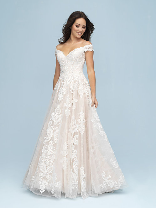 Allure '9619' Gown