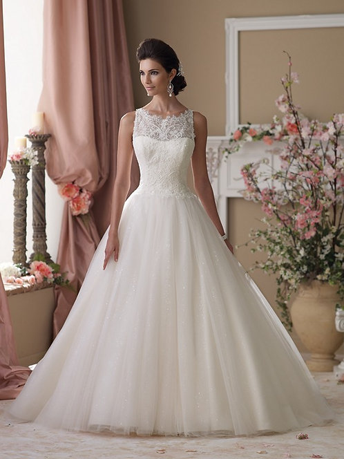 David Tutera Ball Gown