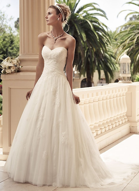 Casablanca Tulle Gown
