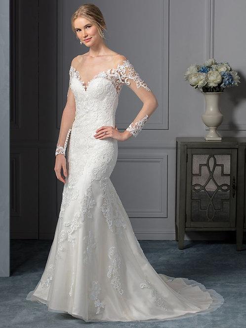 Casablanca 'BL239' Gown