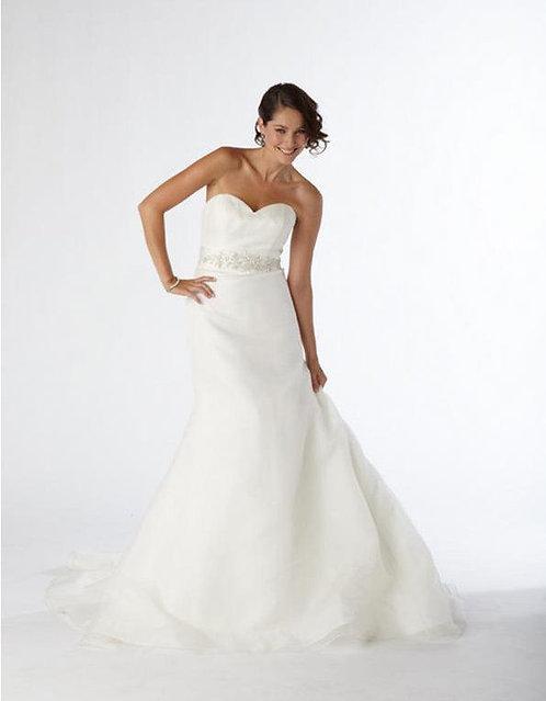 Kristie Kelly Organza Gown