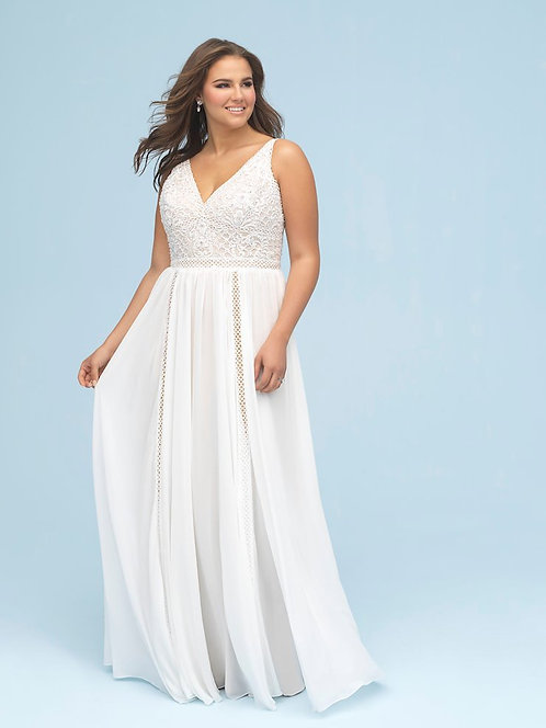 Allure Plus Size '9616' Gown