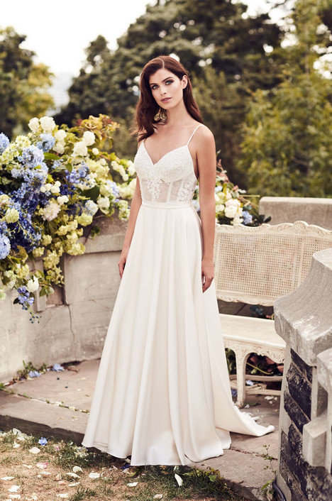 Paloma Blanca A-Line Gown