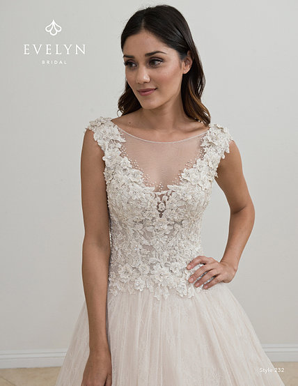 Evelyn Bridal '232' Gown