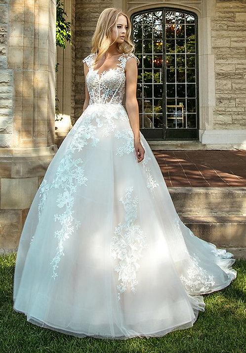 Calla Blanche 'Alessia' Gown