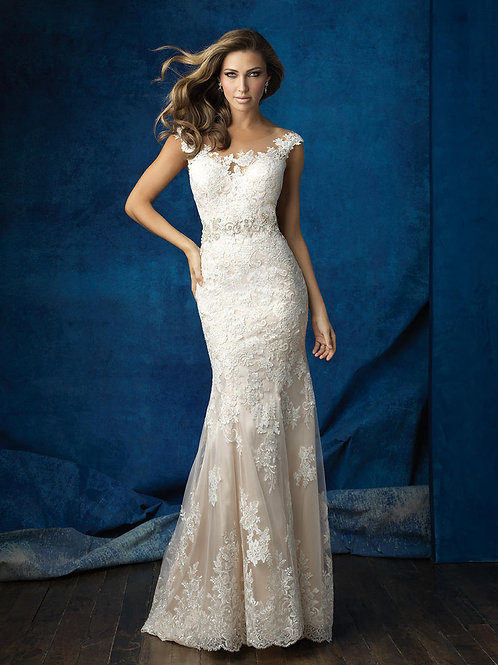 Allure '9371' Gown