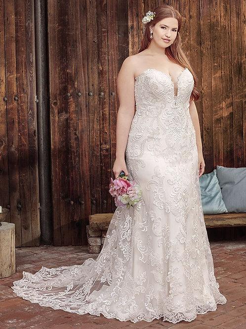 Casablanca 'BL261' Gown